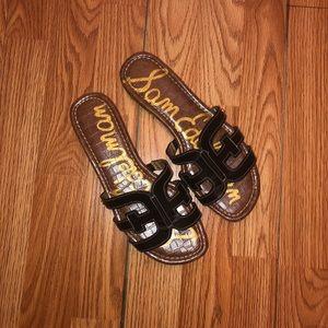 Sam Edelman Bay Slide Sandals (WIDE WIDTH)